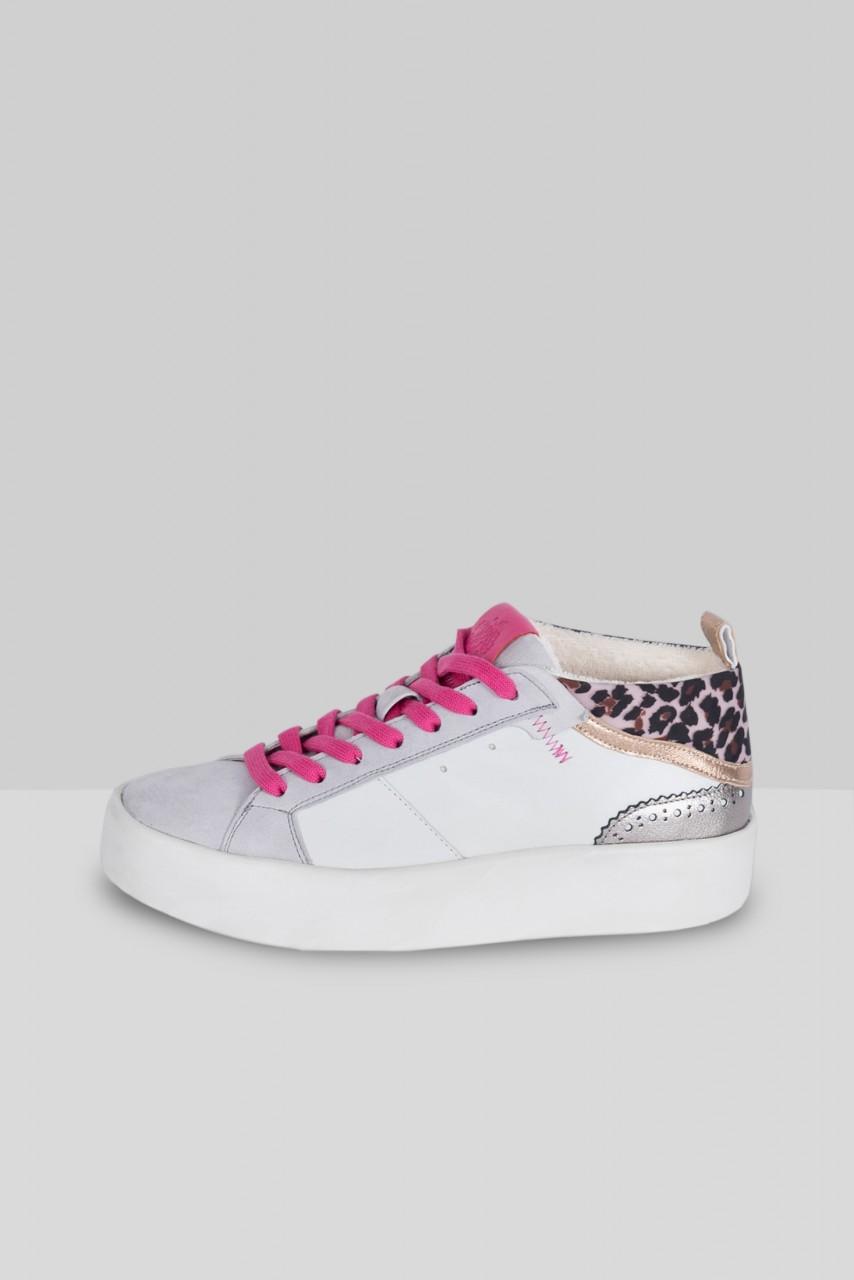 BREE Weiss Hellgrau mit Pink